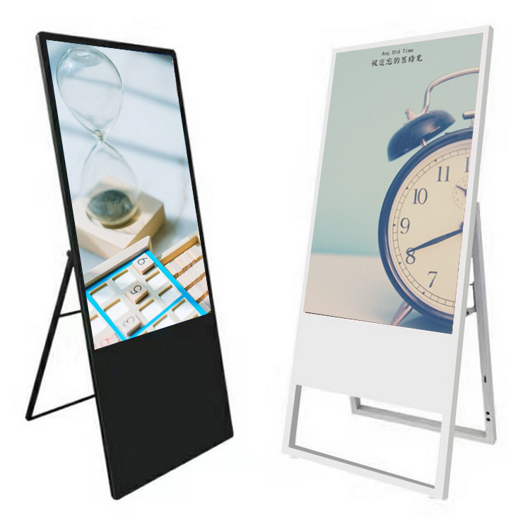 Europe style for Table Stand Advertising Player -