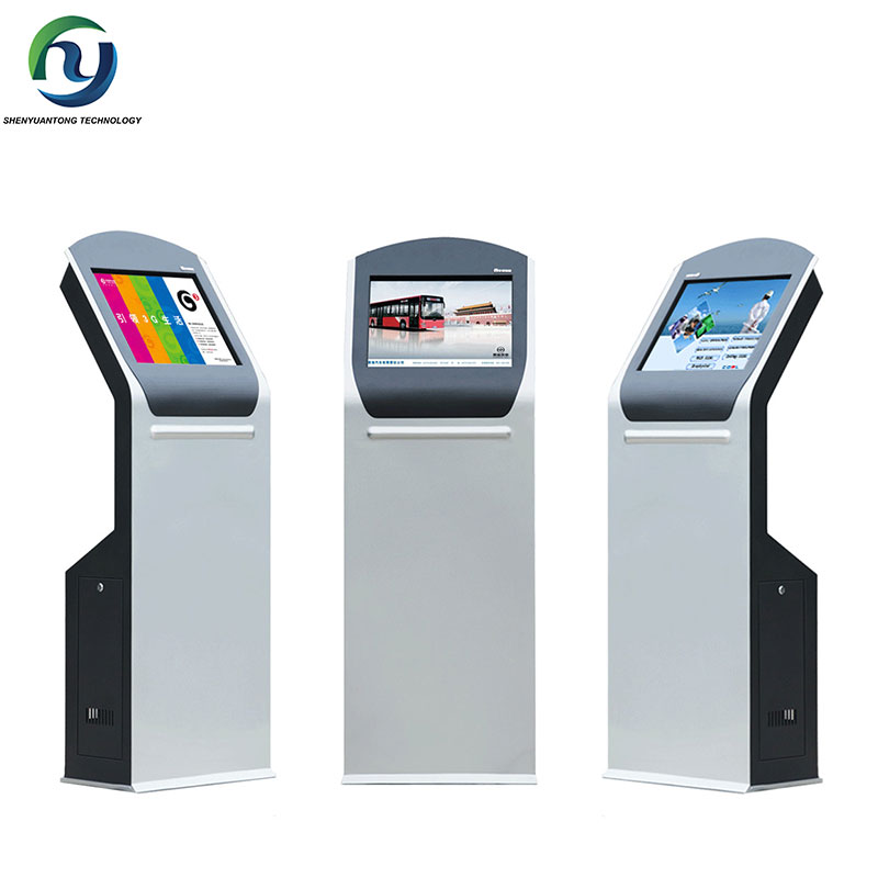 High Quality Queuing Machine Kiosk Advertising Palyer For Bank