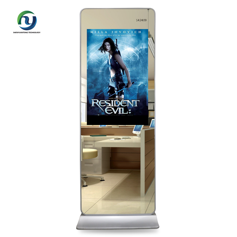 2018 New Design Indoor Lcd Magic Mirror Advertising Screen Display for Restaurant