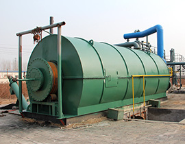 Անվադող Pyrolysis To Oil