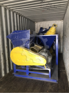 Delivery of 500KG/H Dry Type Cable Granulating Plant /Cable Granulator /Cable Granulating Machine/Waste Cable Recycling Mahchine/ To Hungary