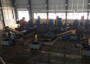 Naass-Typ Cable Granulating Plant