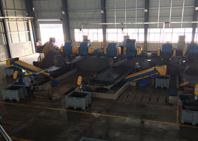 Wet-Type Cable granularity Plant