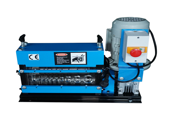 Eneo-kazi-aina Cable Stripper Machine