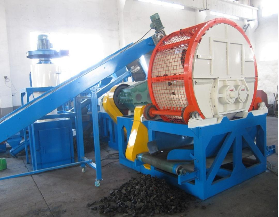 Tire Processing To gome Powder