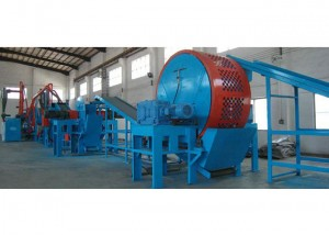Tire to Powder producing plant