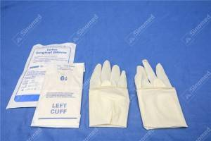 latex powder free gloves Latex Surgical Gloves