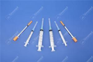 parts of disposable syringe Disposable Syringe