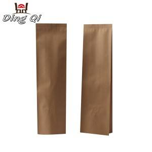 Tinplate Steel Sheet Side Gusset Bag - Gusseted paper bags – DingQi