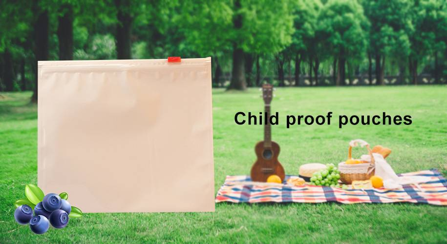 Child proof pouches