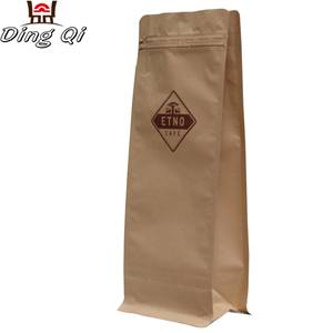 Alloy Steel Sheet Aluminium Packing Bag - box bottom coffee bags – DingQi