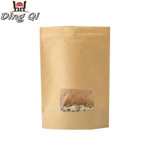 sealable paper bags with window