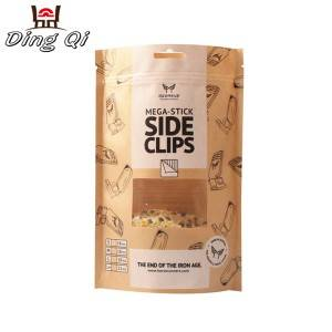 Gl Steel Coffee Storage Bags - kraft zipper pouch bags – DingQi