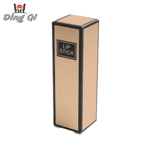 Cheap laminated cardboard tuck lipstick packaging box