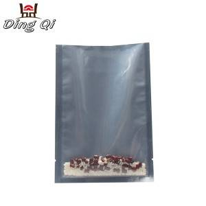 Corrugated Color Coated Steel Clear Stand Up Zip Bags - foil bags for food packaging – DingQi