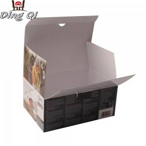 Luxury premium customized empty paper chocolate box packaging