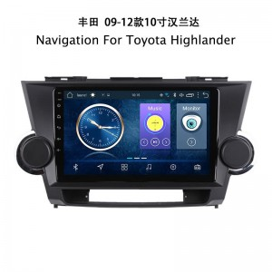 Navigation For Toyota Highlander