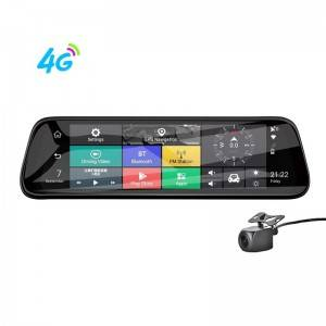 High definition Android Navigation Dvr - H913P  10 inch 4G Android Rearview Mirror Dash Cam Navigator – Qizheng
