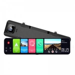 China New Product Car Camera With Sony Starvis - H1105B   12 inch 4G Android 8.1 Smart Rearview Mirror – Qizheng