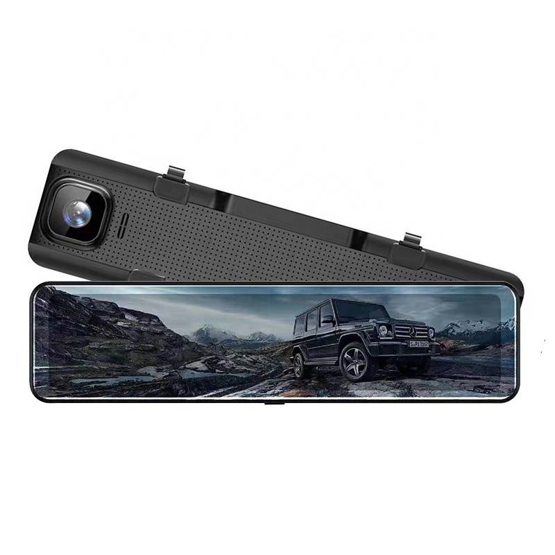 China Cheap price 4g Driving Recorder - Newest Arrival OEM & ODM 12 inch FHD 1080P Supper Night Vision Rearview Mirror Car Camera – Qizheng