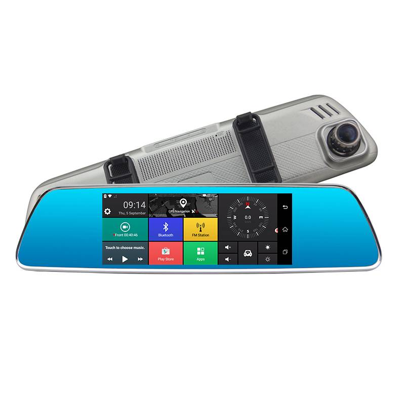 H714P   7 inch 4G Rearview Mirror Navigation Dash Cam Featured Image