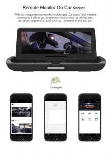ZH733   4G Android 8.1 Car Dashboard Camera