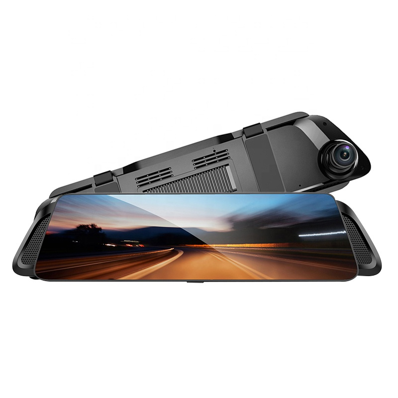 H916   4G Streaming Media Mirror Dash Cam with Cooling Fin