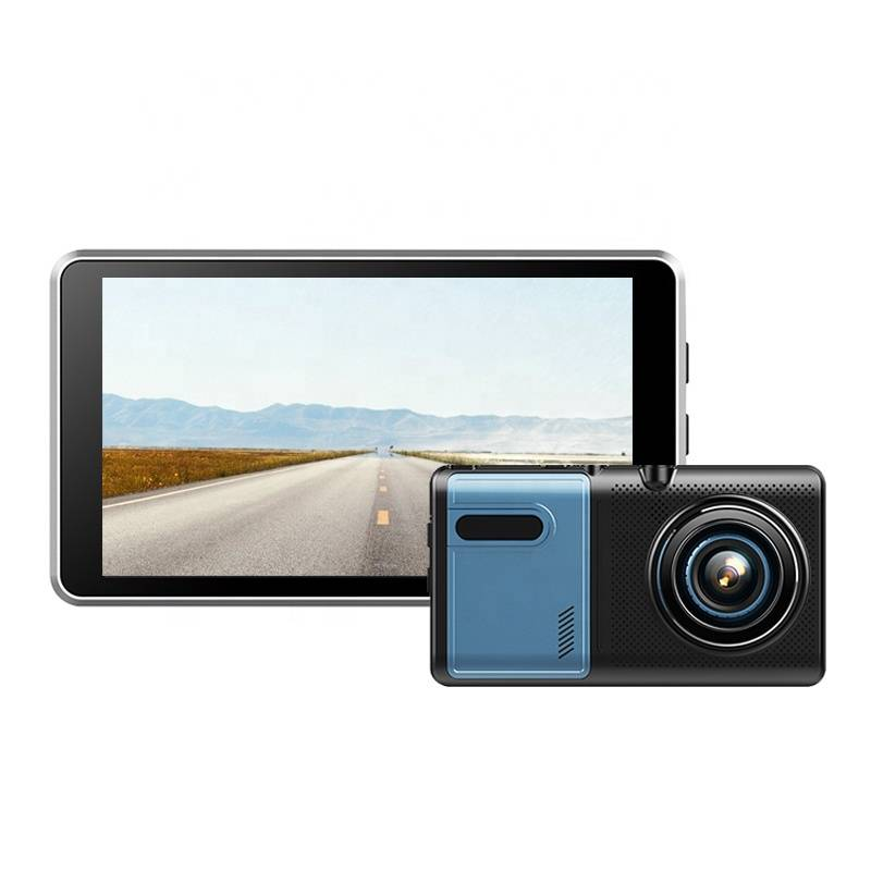 Free sample for Dual Camera Rearview Mirror - A50   5 inch Android Dash Cam – Qizheng