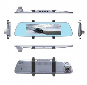 H714P   7 inch 4G Rearview Mirror Navigation Dash Cam