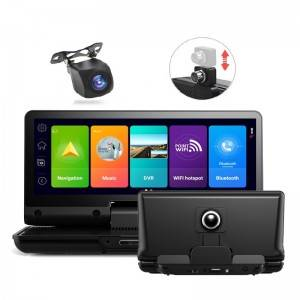 ZH732    The Newest 7 inch 4G Android 8.1 Car Dashboard Cam