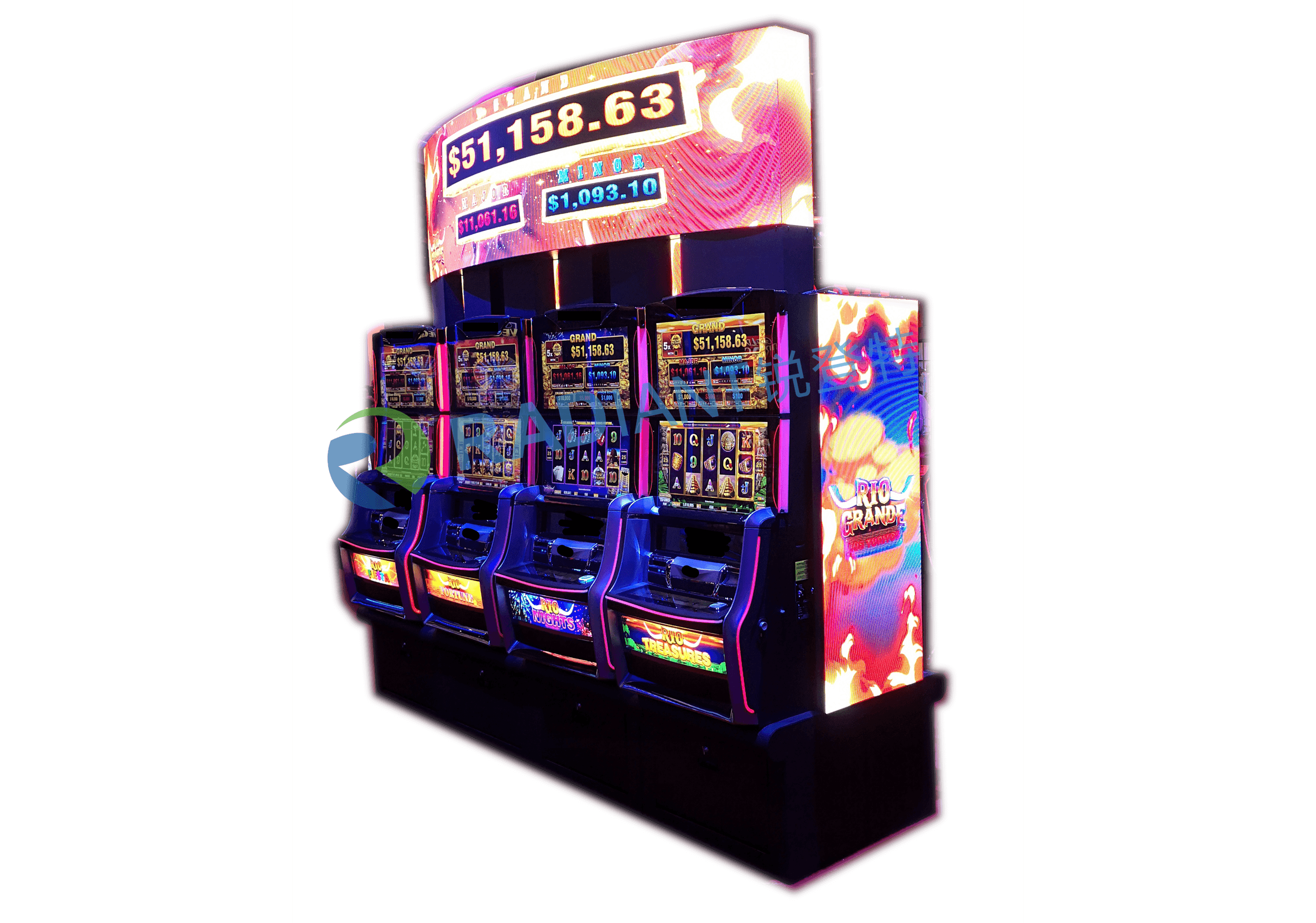Ellipse LED Display għal Slot Machine