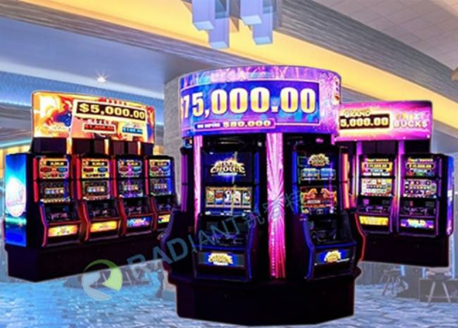 Digital Signage for Slot Machine