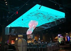 EZISESIBHAKABHAKENI 3D LED screen