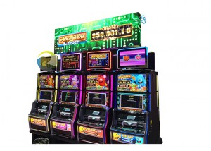 LED display signs for slot machine
