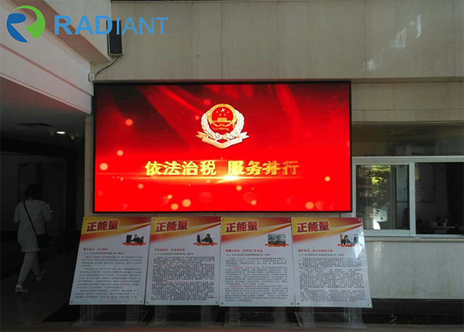 FXI4 LED screen