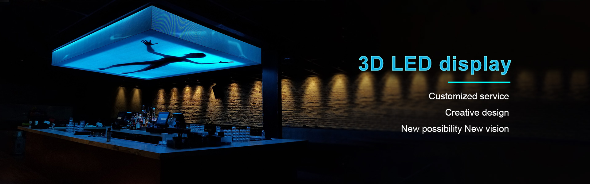 Sky 3D Led screen