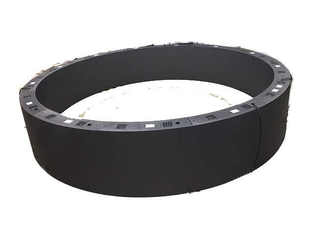P2.5 double-face round LED screen