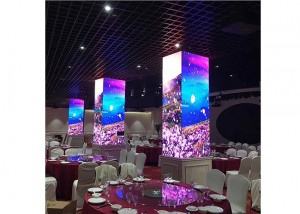 Pillar LED screen