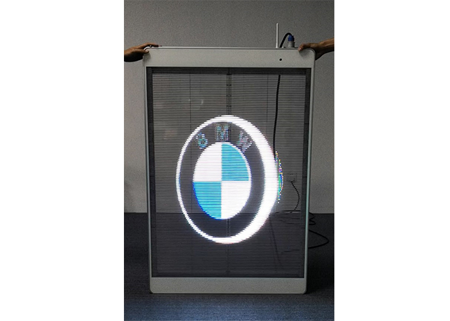 Transparent LED Poster