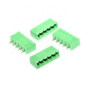 5.08 mm pitch 5 pin male Green pluggable terminal block