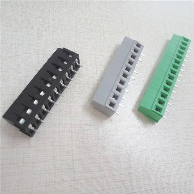 Green terminal block cable connector series  (1)