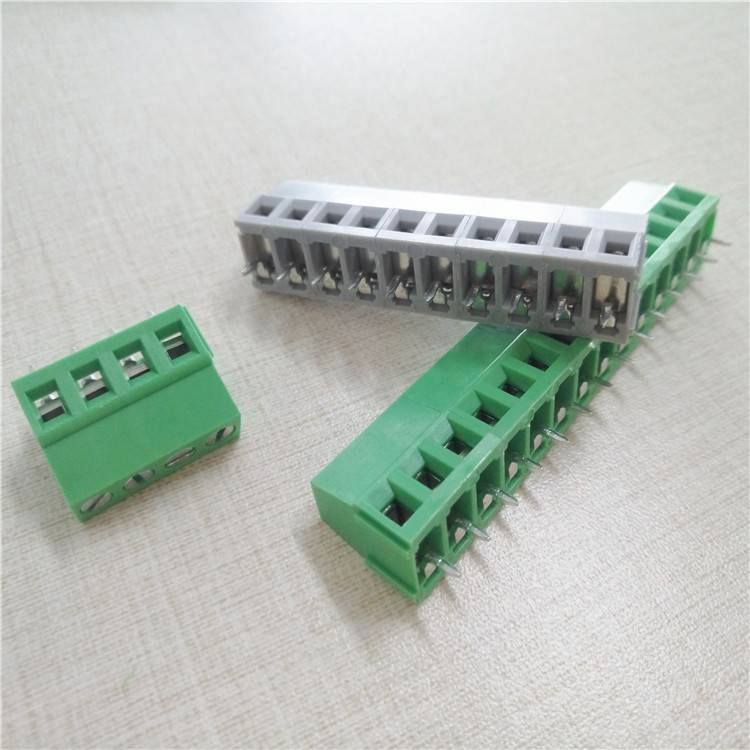 Green terminal block cable connector series  (4)