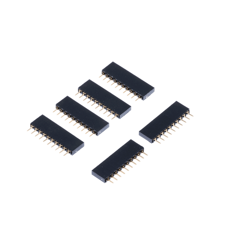 1.27/2.54 mm SMT DIP Pin Header Male Female Connectors for PCB  Factory Price Customized 2xN Pin