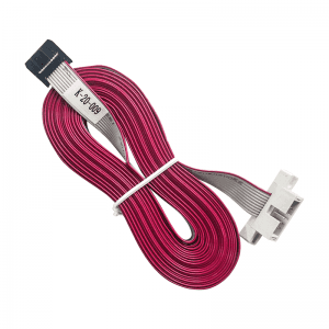 Platte kabel met Box Header en IDC Connector