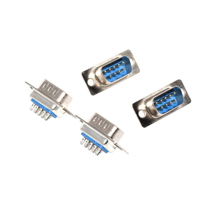 S23-80001-00 High Quality D-sub 9P Male PCB mounting D sub data connector