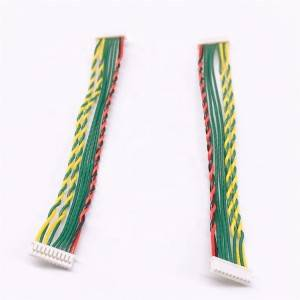 Multimedia Network camera wire 1.25-10P 1571#26 black, red, green, yellow length 105mm