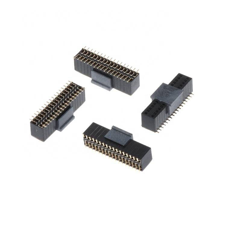 "S17-08369-00 Factory Price 1.27*2.54  (0.1"")  34 Pin Female Header SMT H5.7"