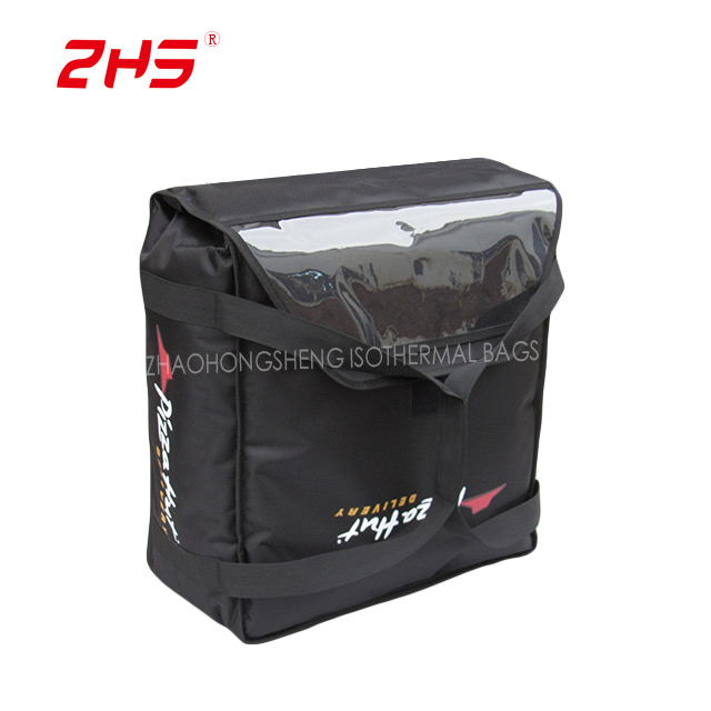 OEM Customized Luxury Cooler Bag - Insulated pizza carrier delivery warmer bags sale Malaysia – Zhao Hongsheng