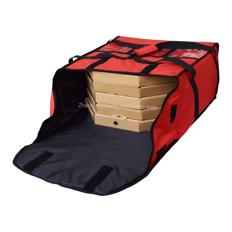 "Well-designed Insulated Food Delivery Cooler Bag - 18""pizza delivery cooler bags with custom printed logo – Zhao Hongsheng"