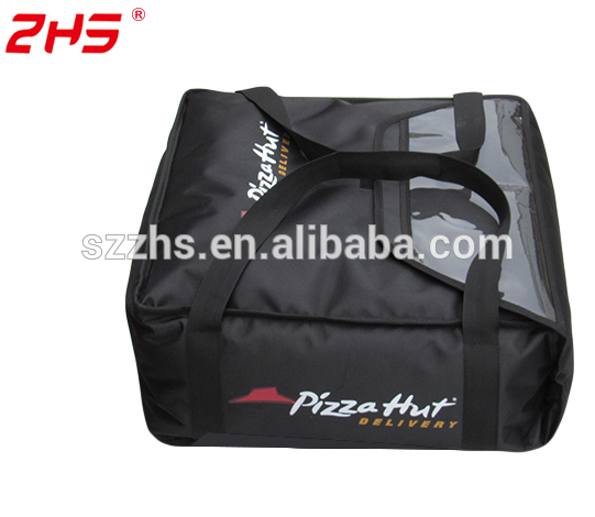Wholesale food pizza hut delivery bag for brand type with custom logo